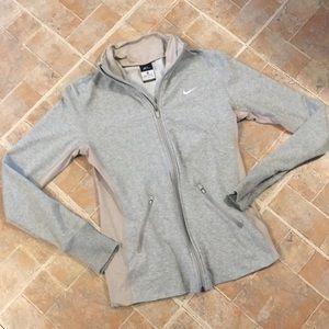 Nike zip up sweatshirt jacket size women's medium